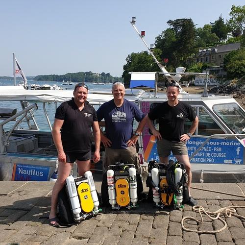 Formation plongeur recycleur REVO - Nautilus Dive Center